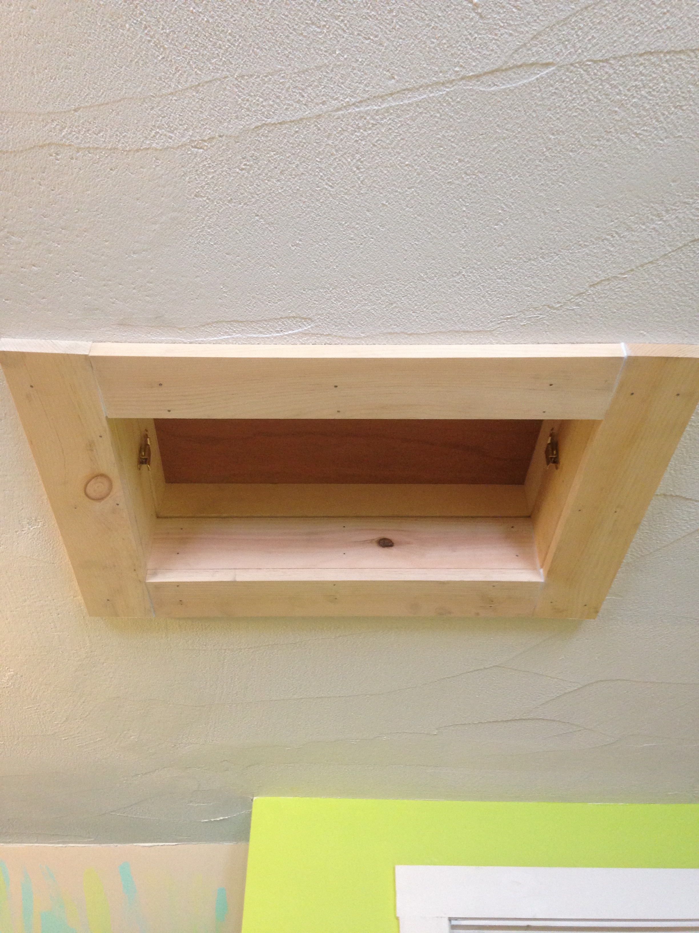 Attic Hatch Completed