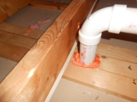 Attic air sealing