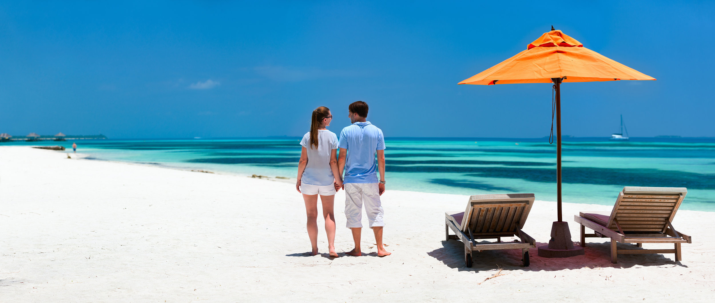 Bigstock_ 87251327 - Back view of a couple on a tropical beach vacation panorama perfect for banners.jpg