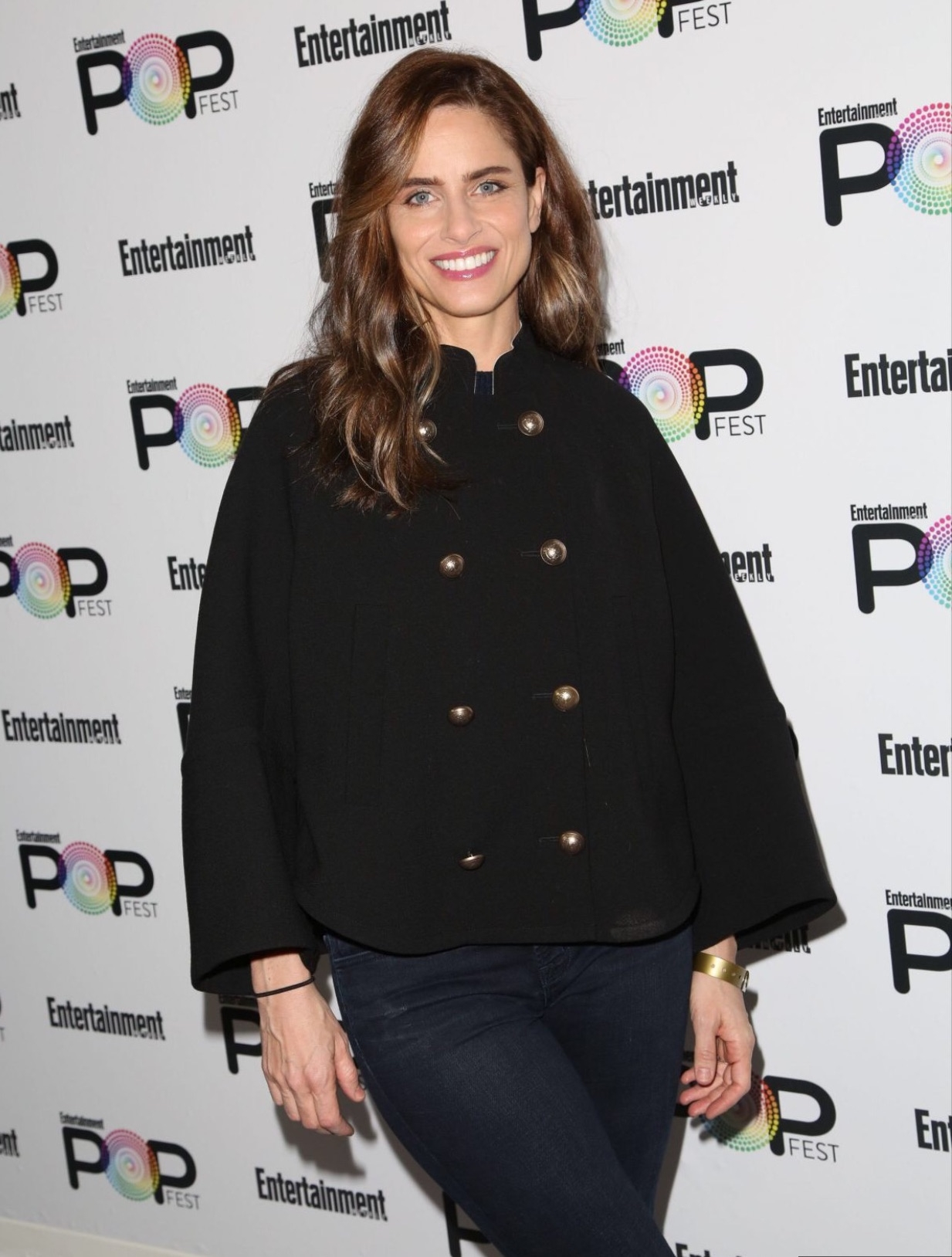 Hair for Amanda Peet - Pop Fest 2016