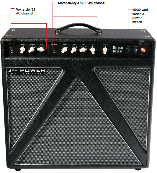 3rd Power Amplification British Dream Amp Review