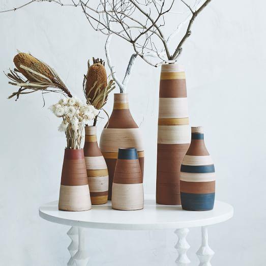 Steven Alan Stripe Vases from  West Elm
