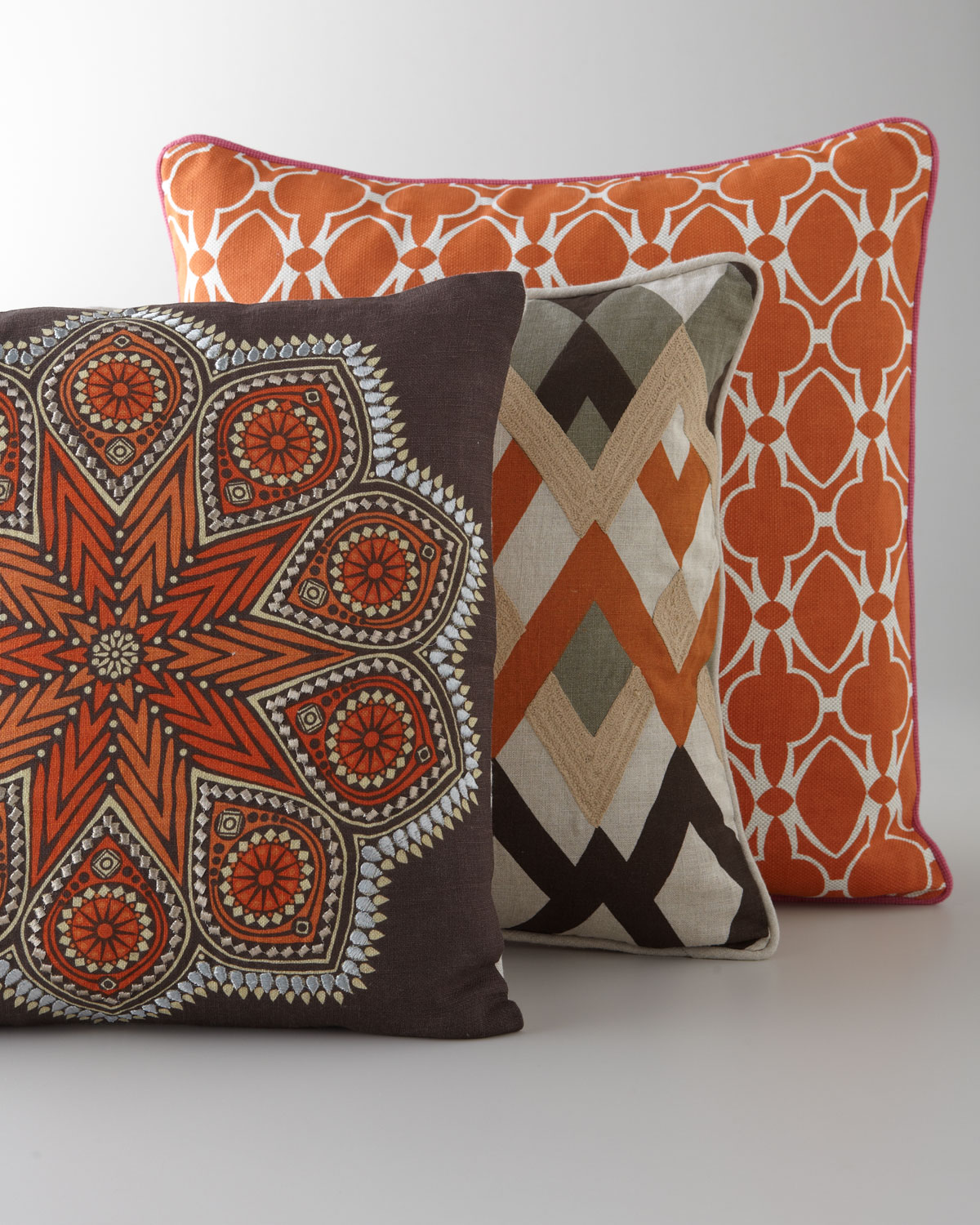 Global Bazaar Pillows from  Horchow
