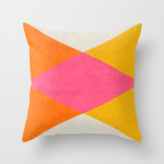 Throw Pillow Cover by  Her Art
