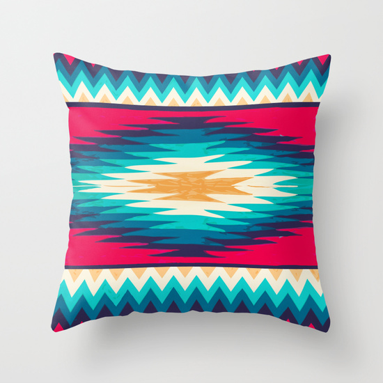Throw Pillow Cover by  Nika