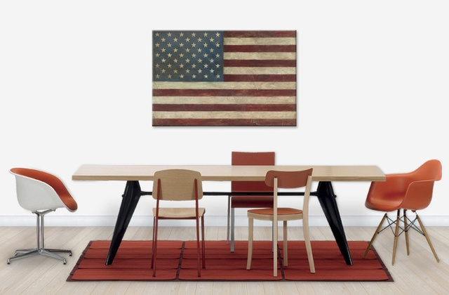 American Flag by Avery Tillmon,  Wild Apple , and available at  PhotoWall