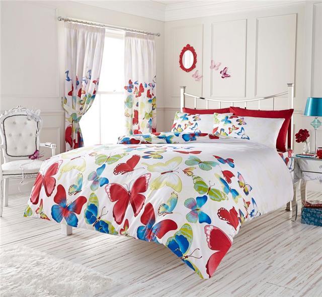 New Rainbow Butterfly Bedding from  Homemaker Bedding