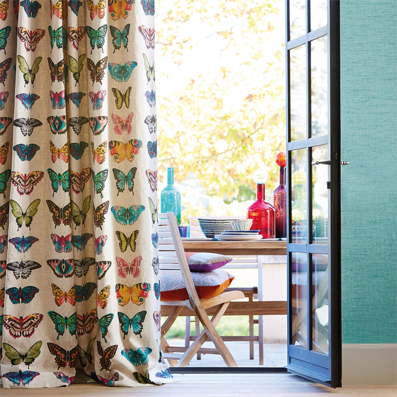 Papilo fabric from  Harlequin