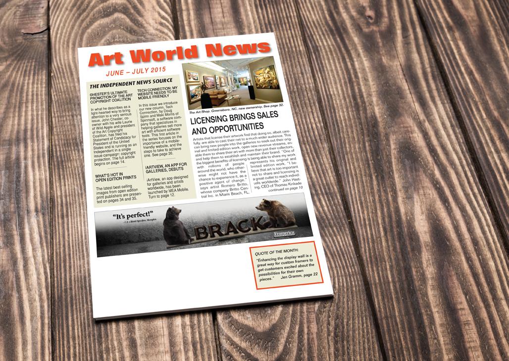 Art World News Licensologie's debut at Surtex