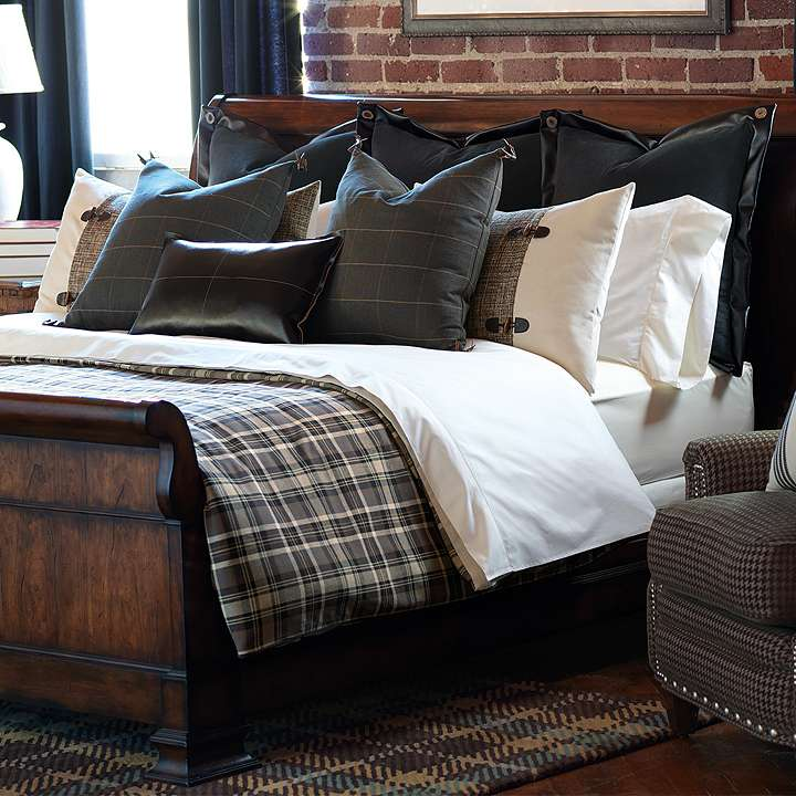 Gorgeous bedding from  FrontGate