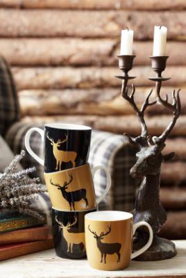 Deer Mugs found on  Achica Living