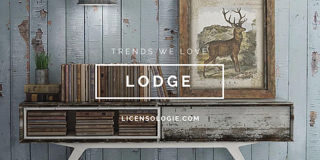 Lodge Trend Home Decor