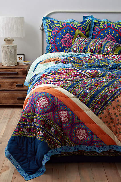 Wildfield Quilt from  Anthropologie