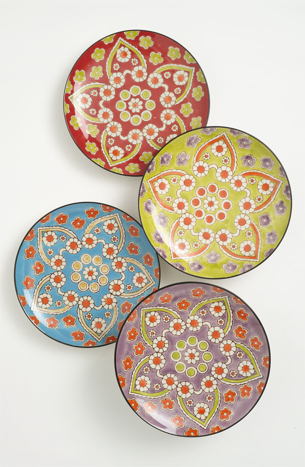 Lotus Pattern Plates from  Nordstrom
