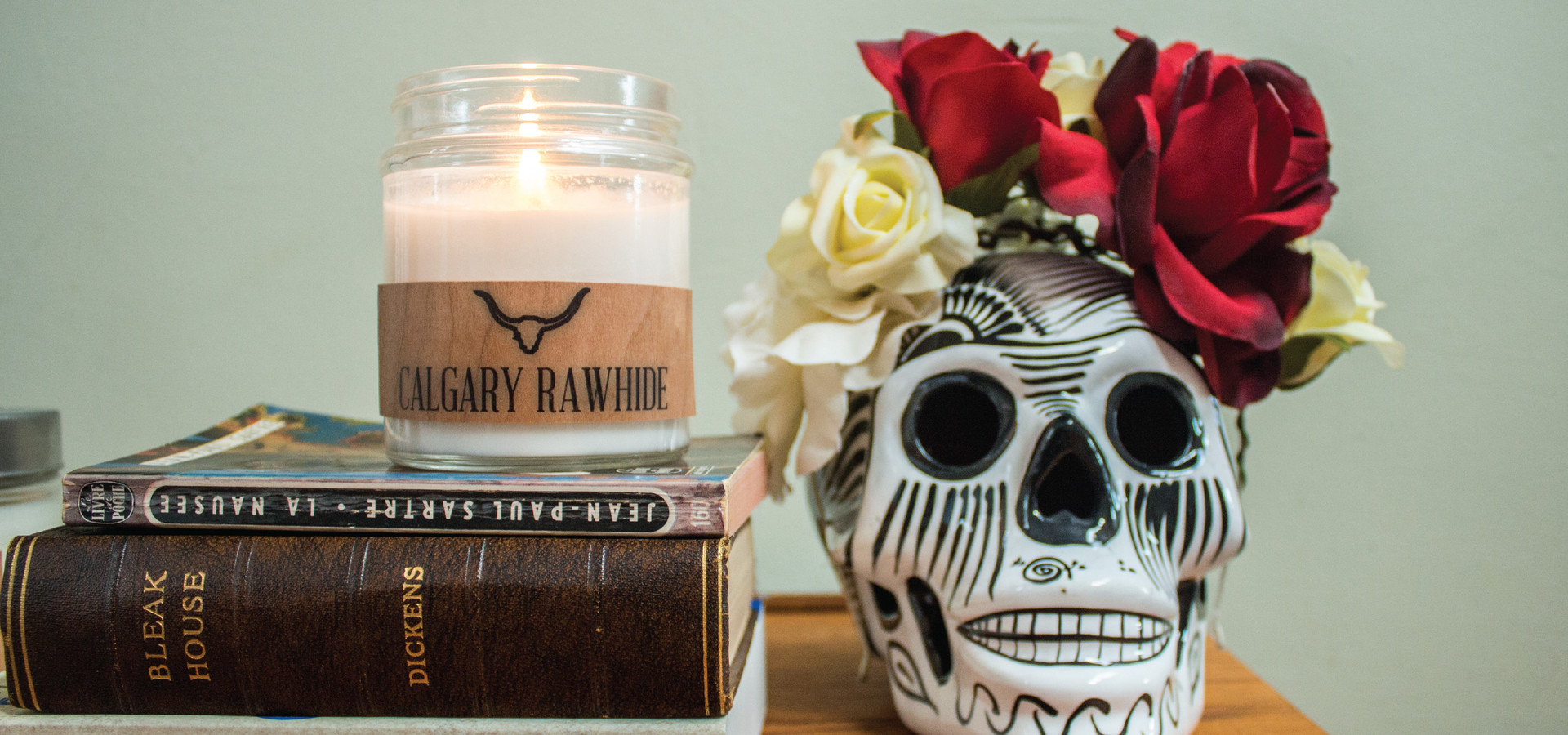 How about some fun candles like Calgary Rawhide or Jasper Park from  Smells Like Canada