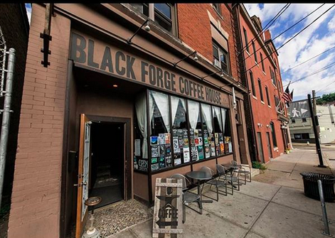 Black Forge Coffee House — Pittsburgh (Allentown Neighborhood) -