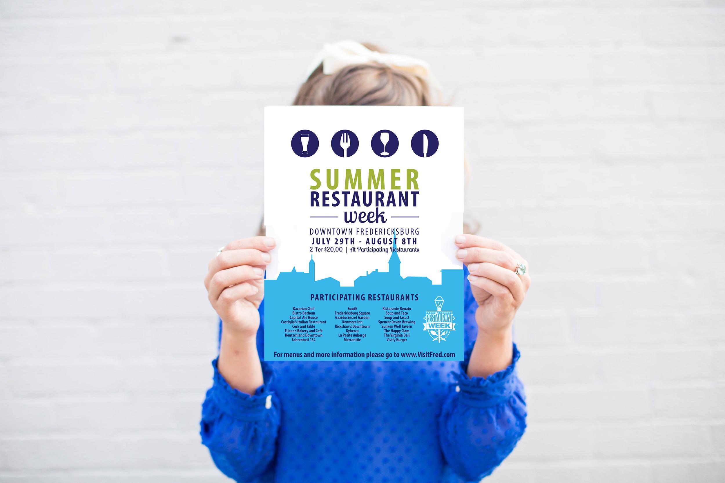 Restaurant Week Poster