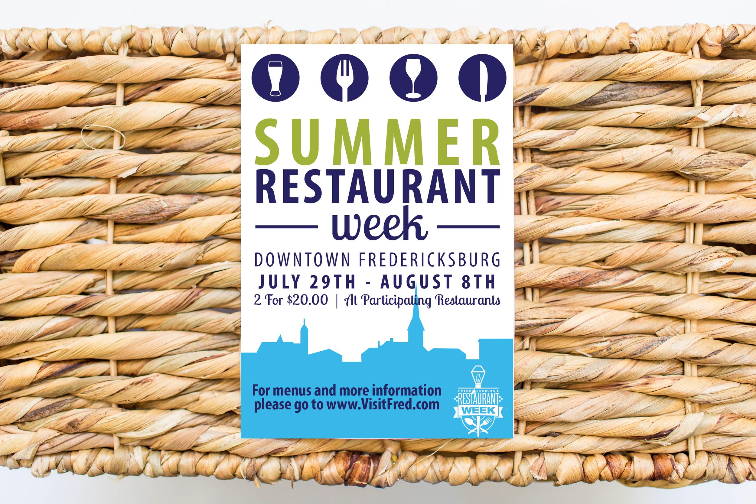 Restaurant Week Postcard