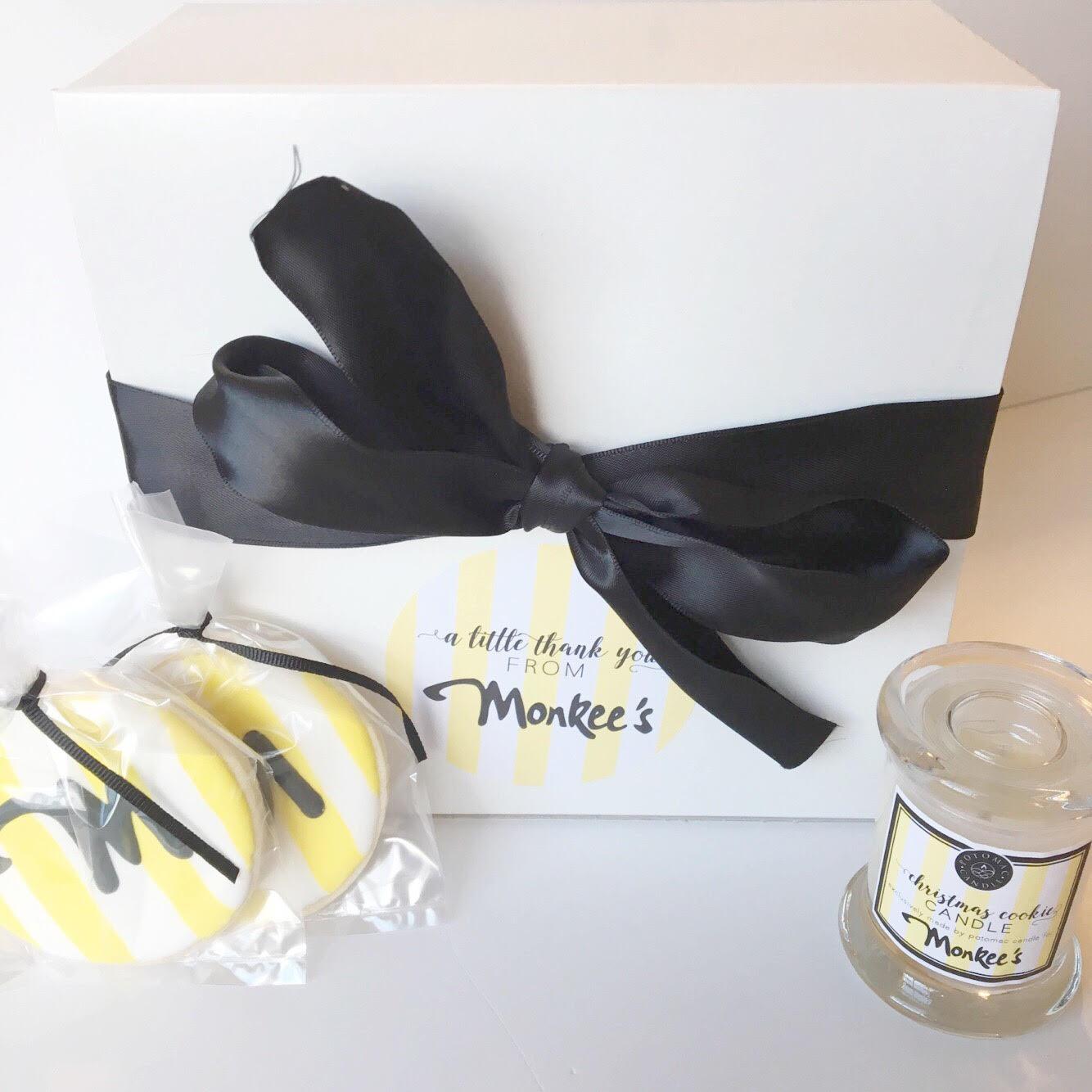 Branded Box for Monkee's of Fredericskburg | Business Brand