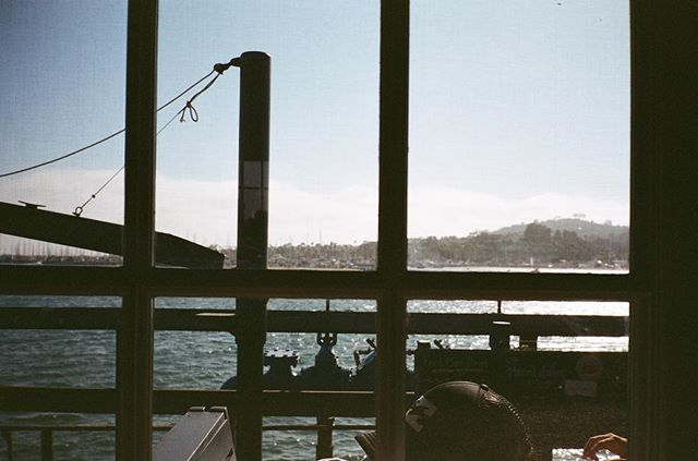 Hello Santa Barbara! #contaxt2 #ektar100 #35mm #staybrokeshootfilm #filmisnotdead
