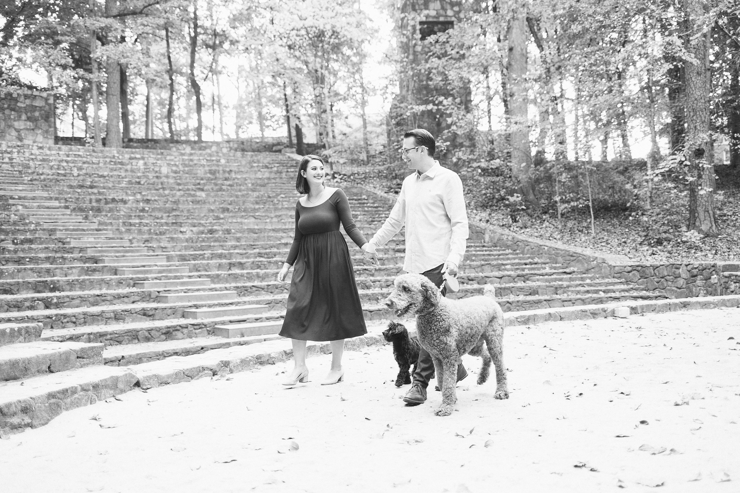 chapel_hill_engagement_sesssion_dogs
