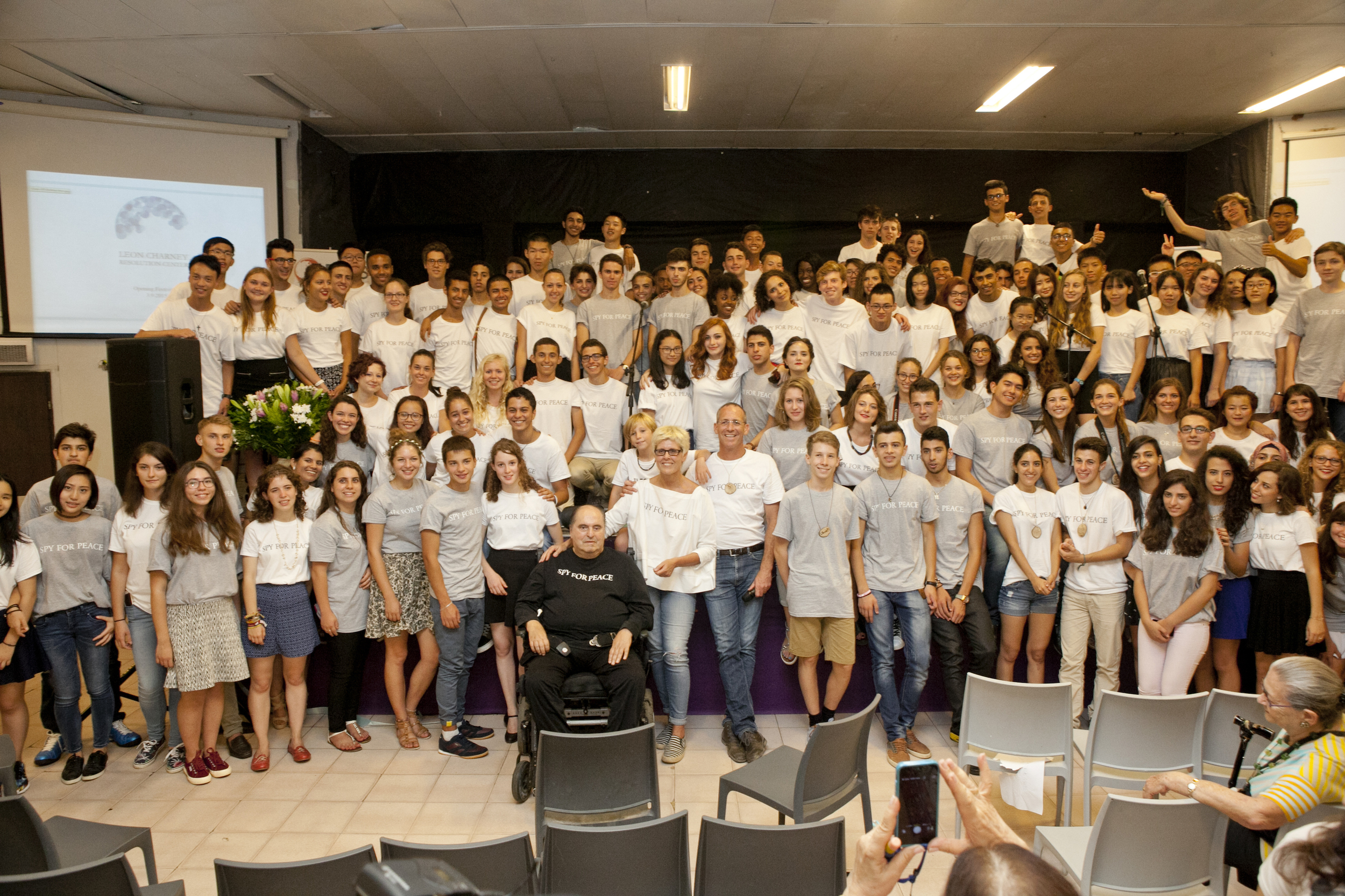 2015.09.03_Charney Resolution Center (483)_Leon and students group shot.JPG