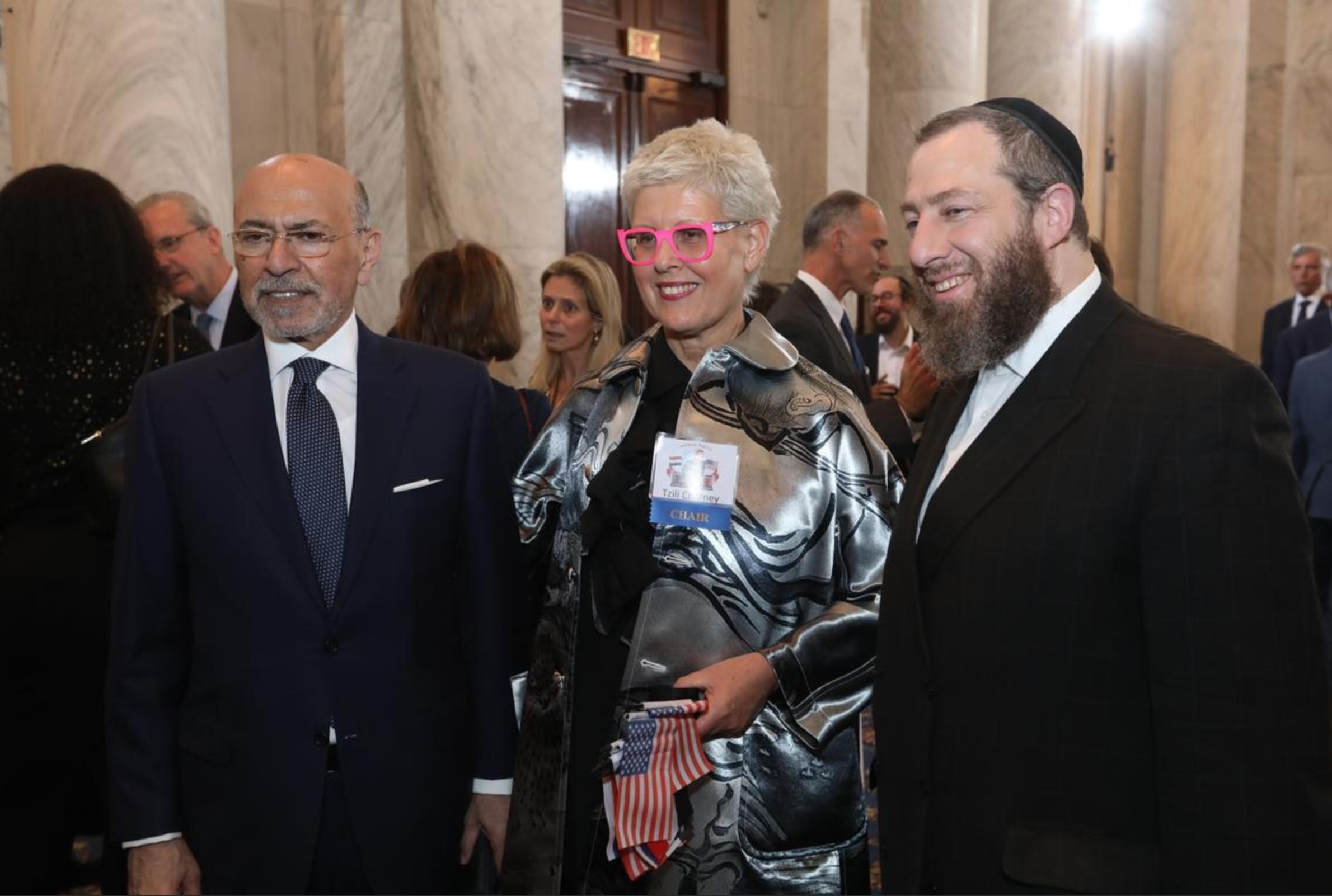 Artoc Shafik Gabr, Tzili Charney and Ezra Friedlander