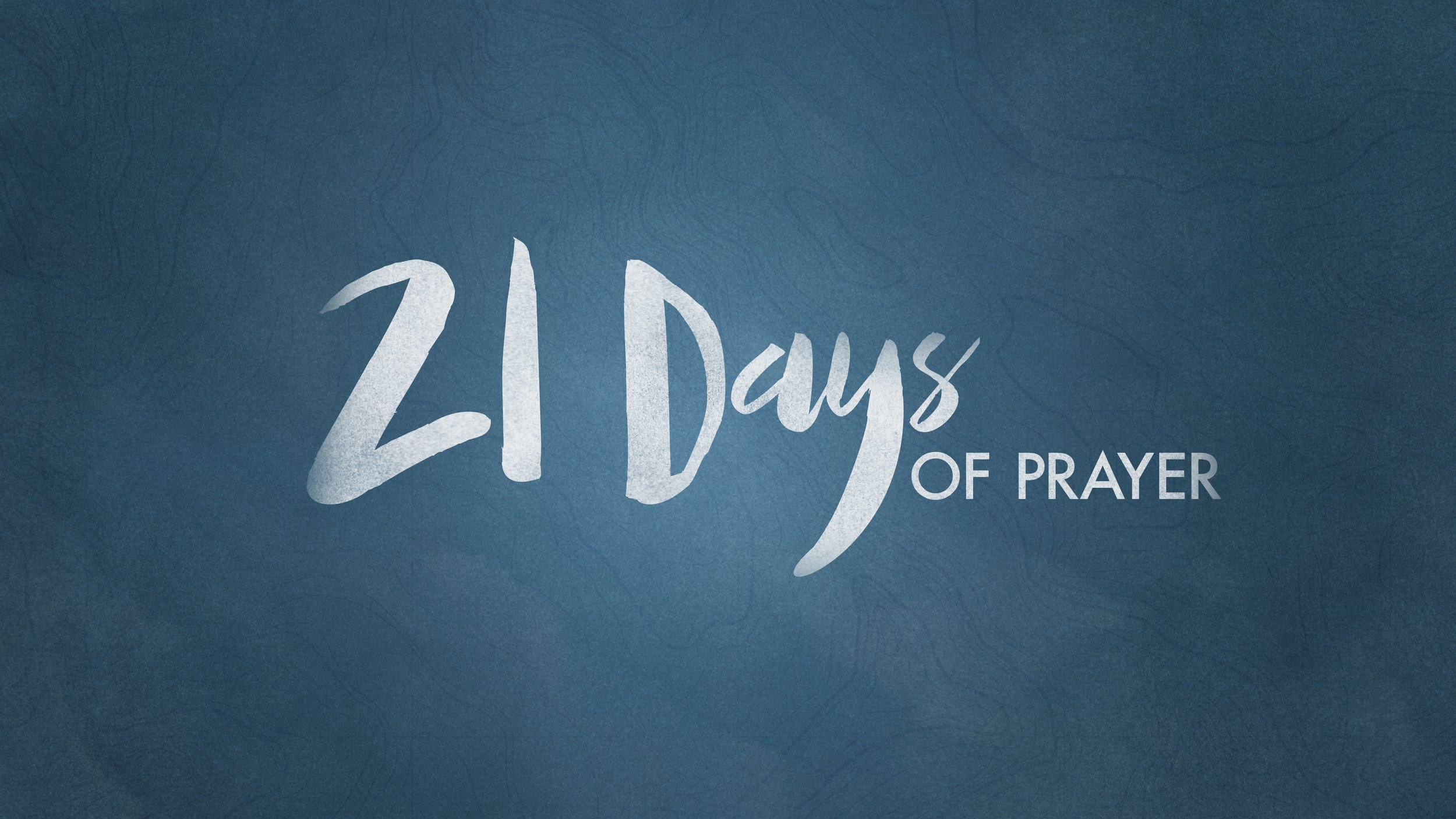 21 Days Of Prayer - Listen Only