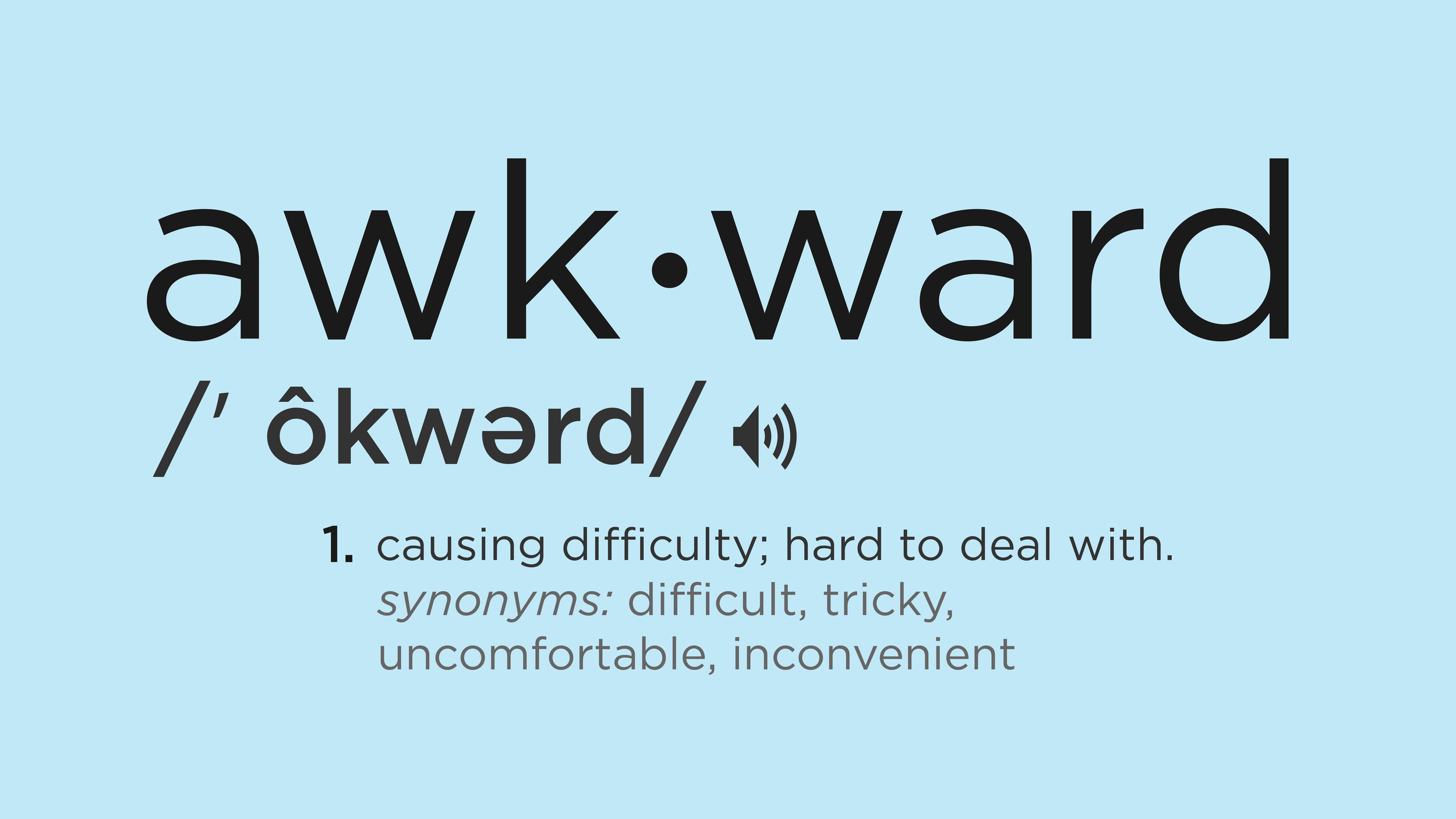Awkward Series - Watch and Listen