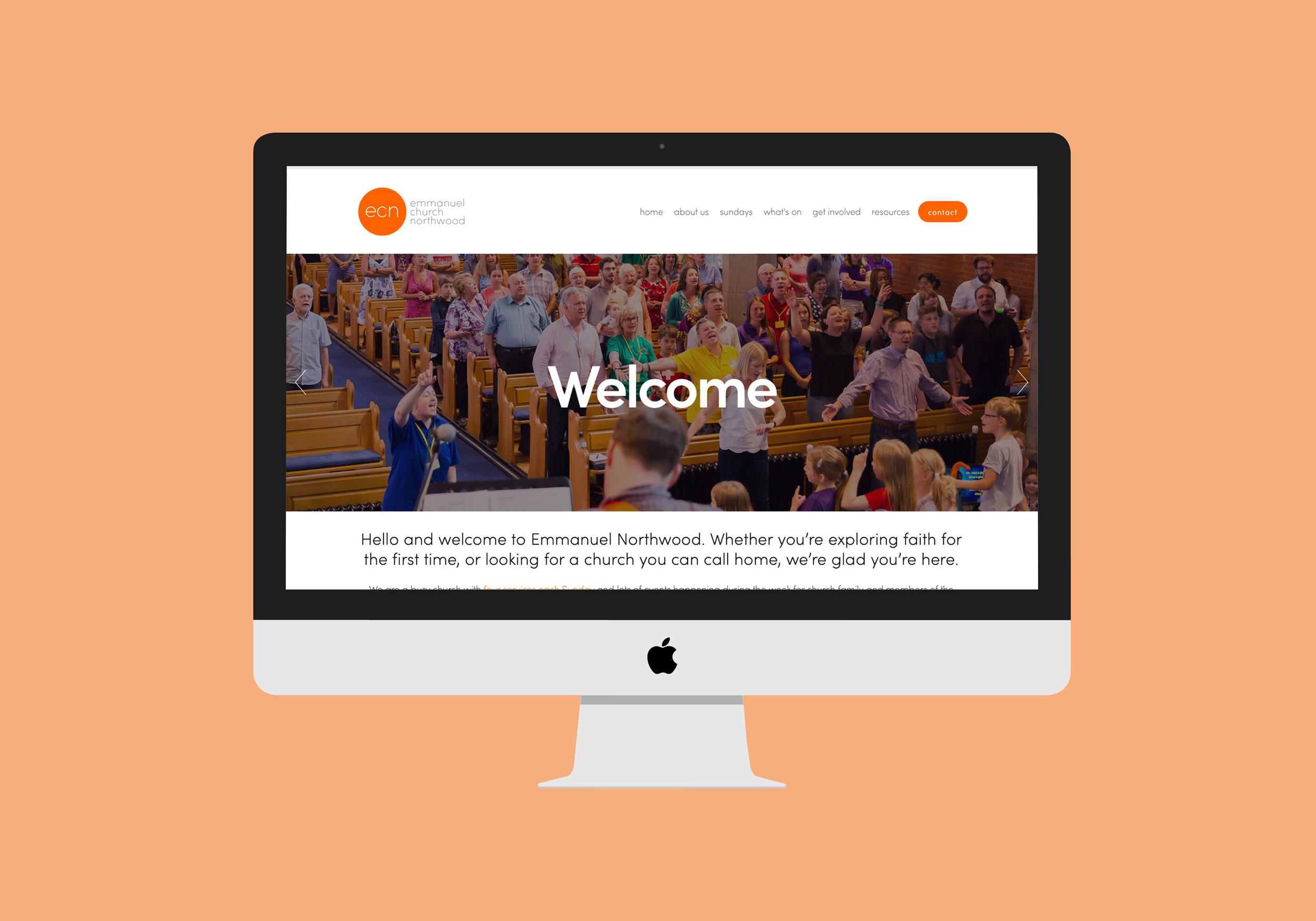 Emmanuel Church Northwood website