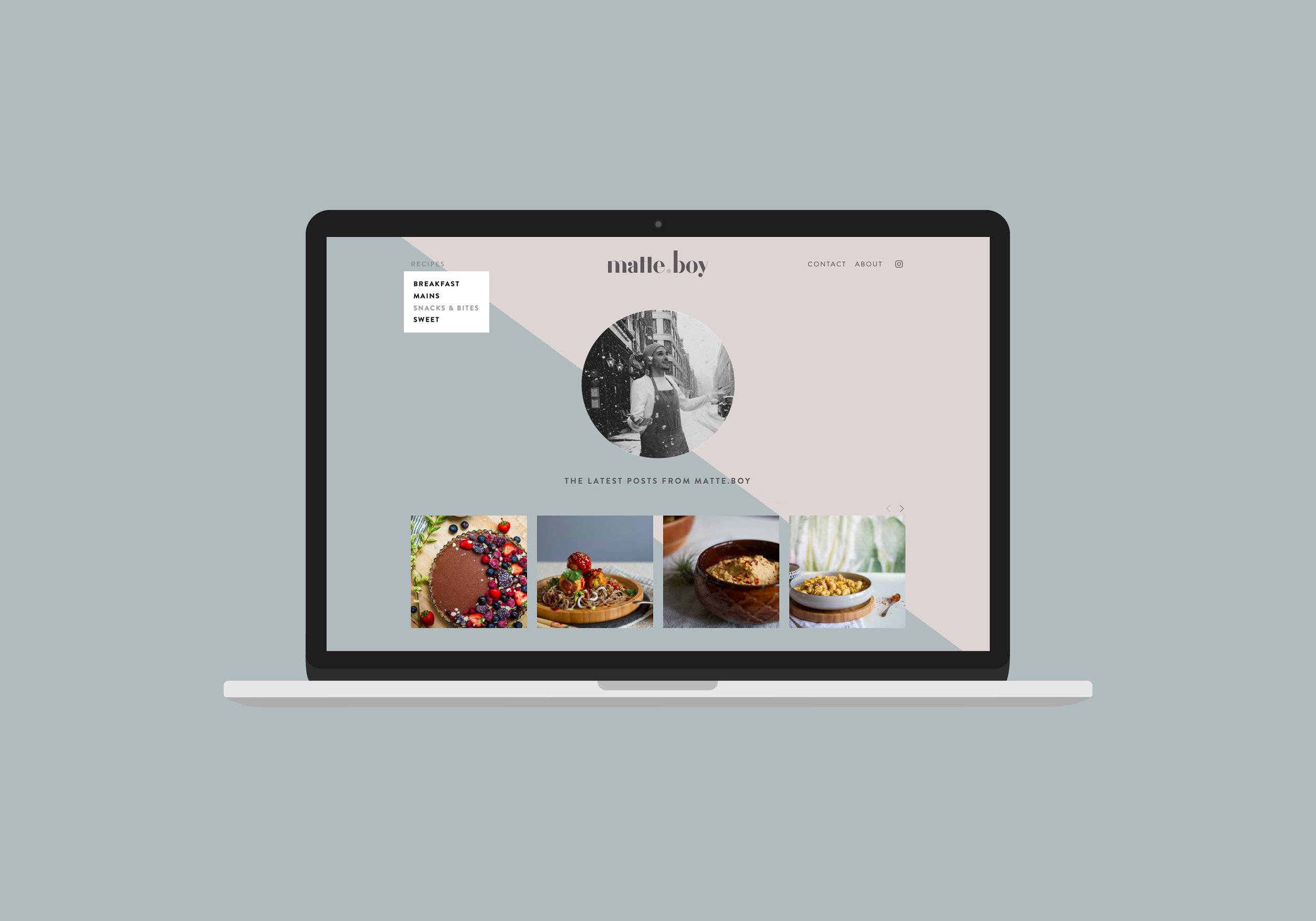 matte.boy - food blog
