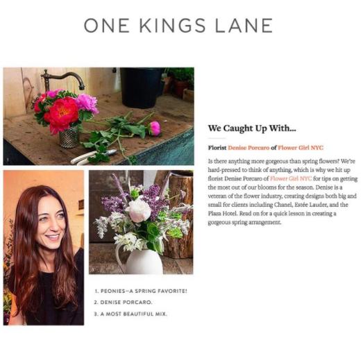ONE KINGS LANE – MAY 2017
