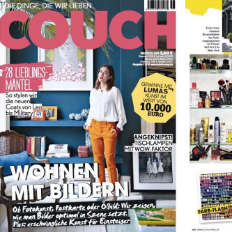 COUCH MAGAZINE – OCTOBER 2016