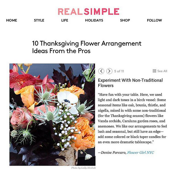 REAL SIMPLE – OCTOBER 2015