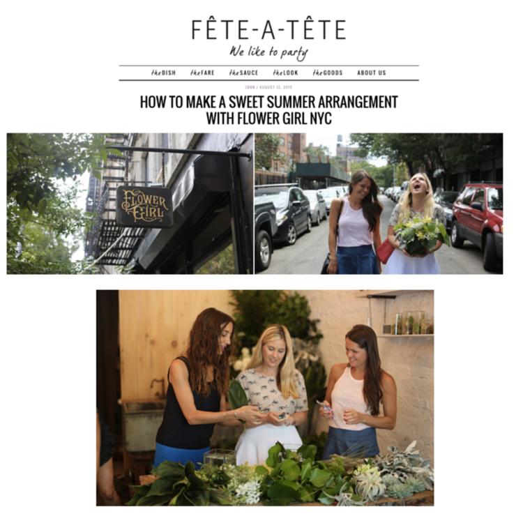 FÊTE-A-TÊTE – AUGUST 2015
