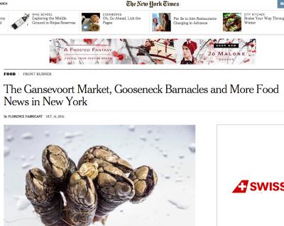 NY TIMES – OCTOBER 2014