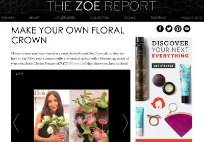 THE ZOE REPORT - JUNE 2013