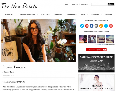 THE NEW POTATO - JANUARY 2013