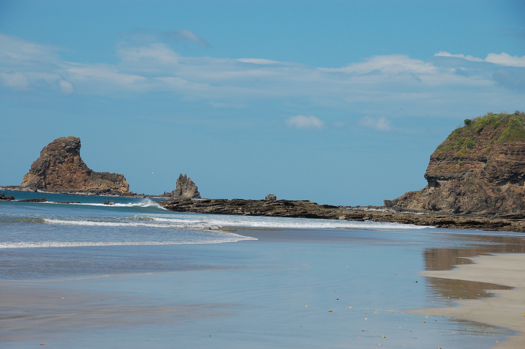 The west coast of Nicaragua, near the proposed route of the Nicaragua Canal.  Photo: Dylan Walters.