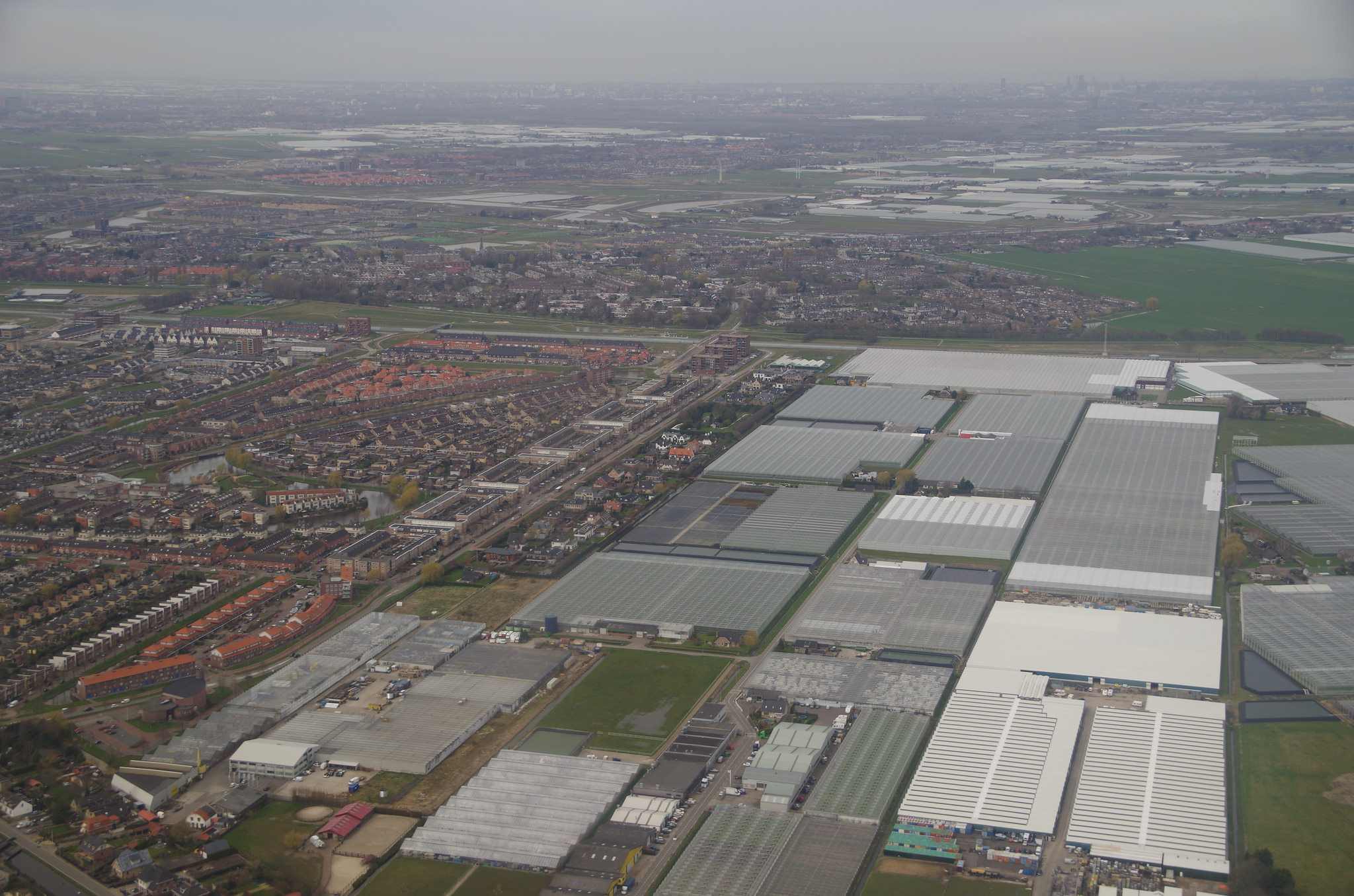 Greenhouses in the Netherlands.  Photo: Pieter Edelman
