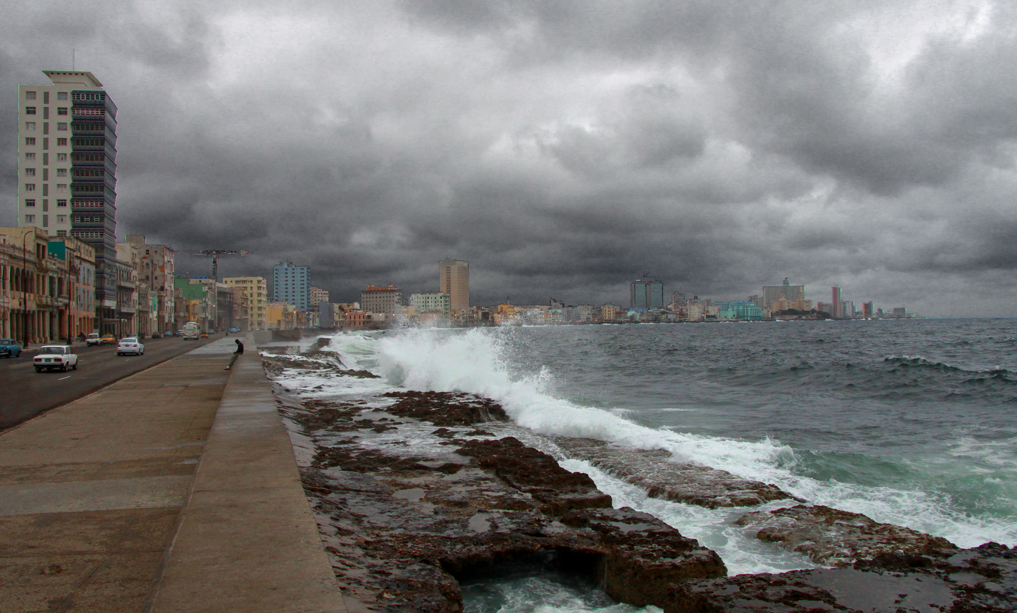 The Malecon in Havana.  Photo: Guillaume Baviere.