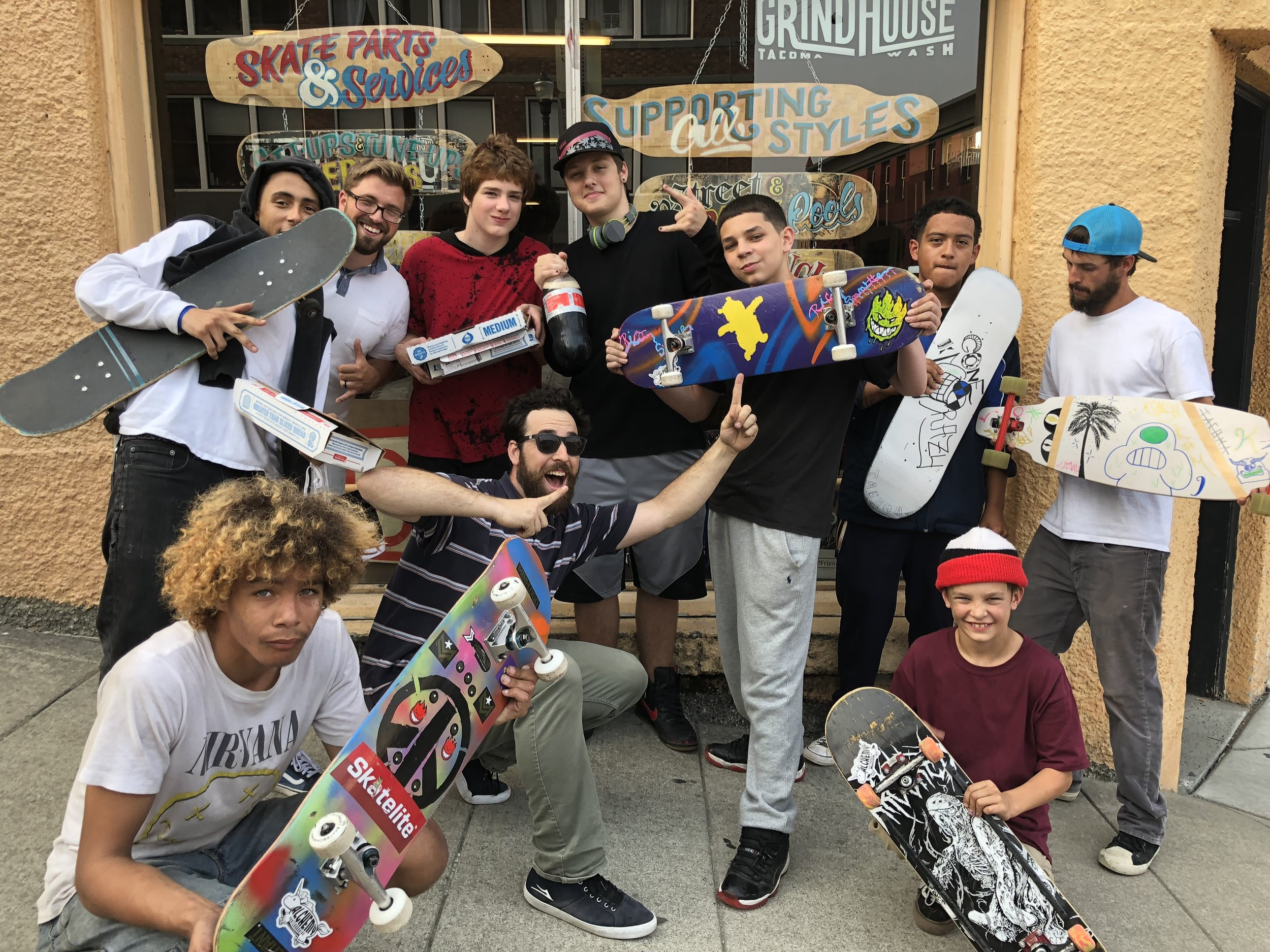 The METALS program is a community-based recidivism/prevention program for court-involved youth in Pierce County. We use skateboarding as a tool to help youth transition out of the Juvinille Court system and build a network of positive supporters, mentors, and friends.