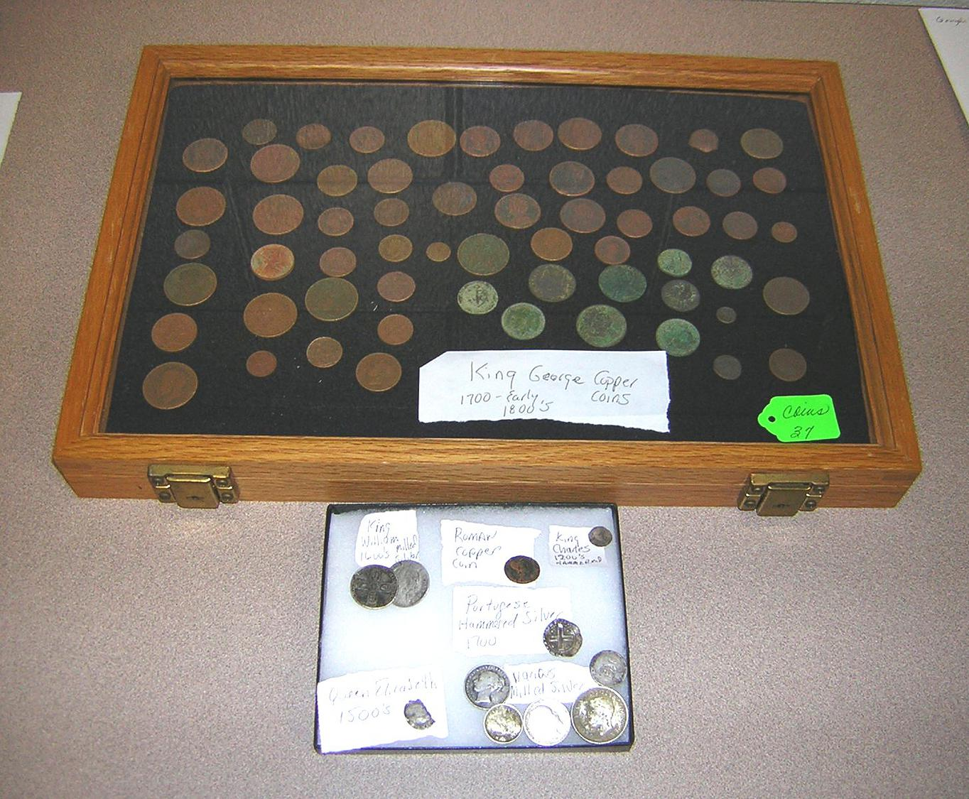 Coins: Doug Sortino