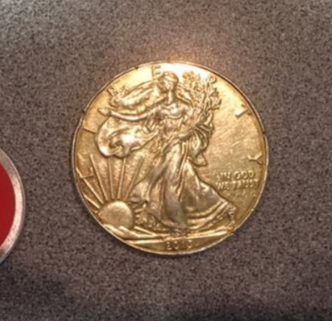 Coins: Julie Hurst-Anaya
