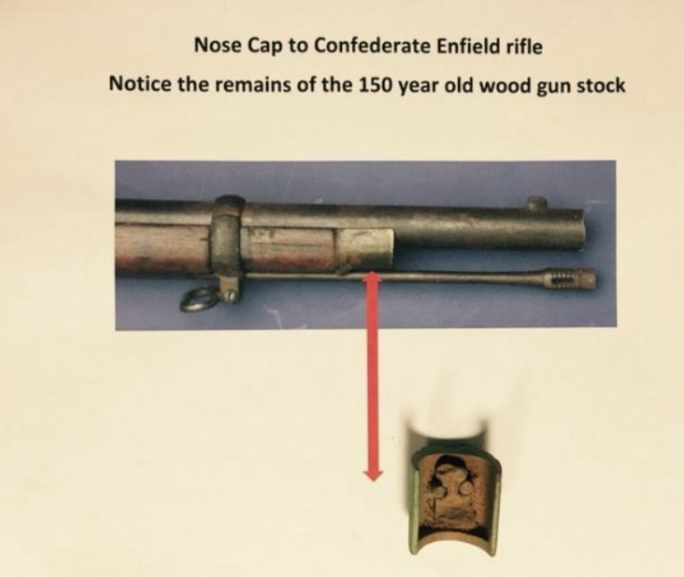 FOTM - Doug Rouner - Enfield Nose Cap with wood stock remaining