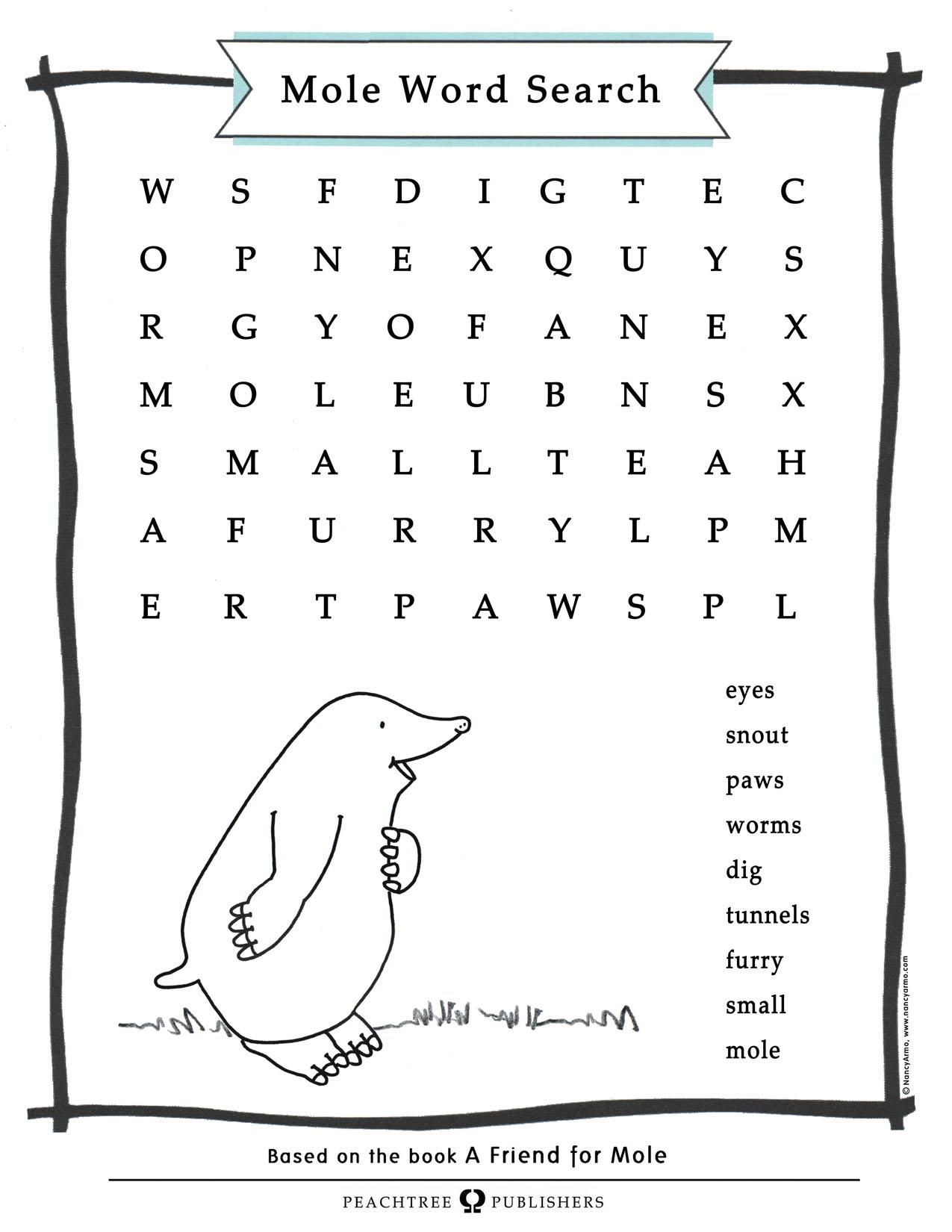 Mole Word Search