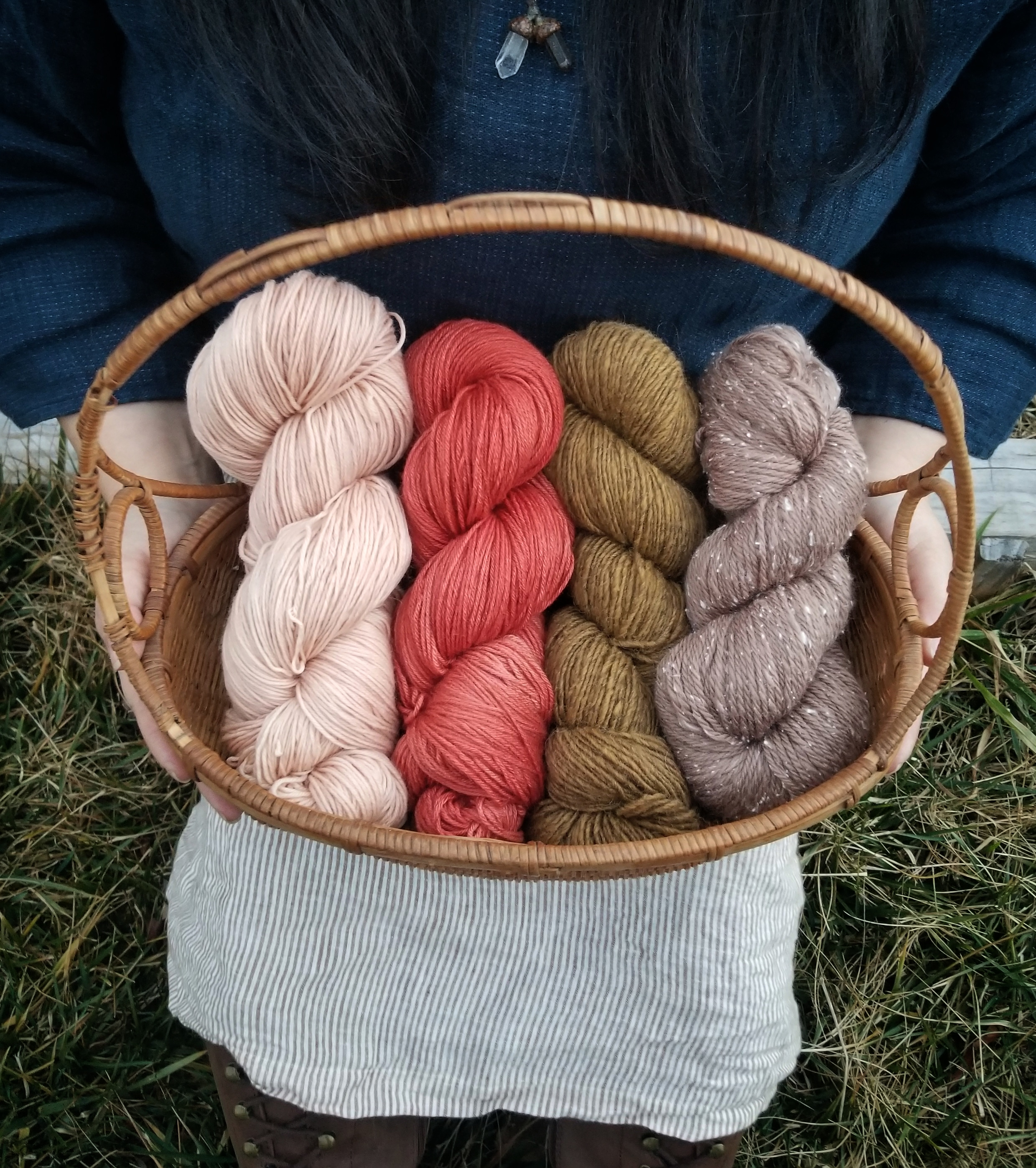 Maria's beautiful fiber collection!