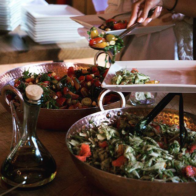 Feeling fresh?? A few of our salads can help with that. #freshfood #westcoastweddings