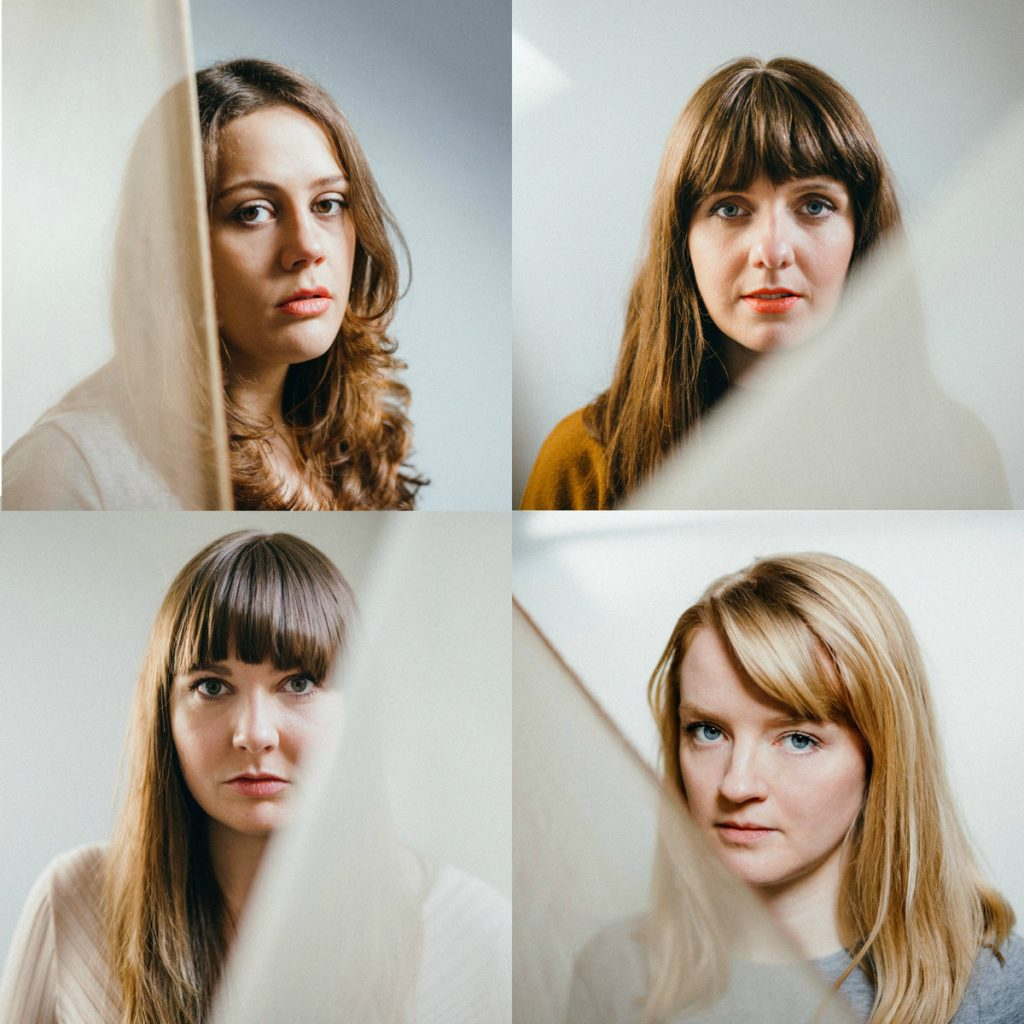 clockwise from top left: Gina, Annie, Debbie, and Lucy