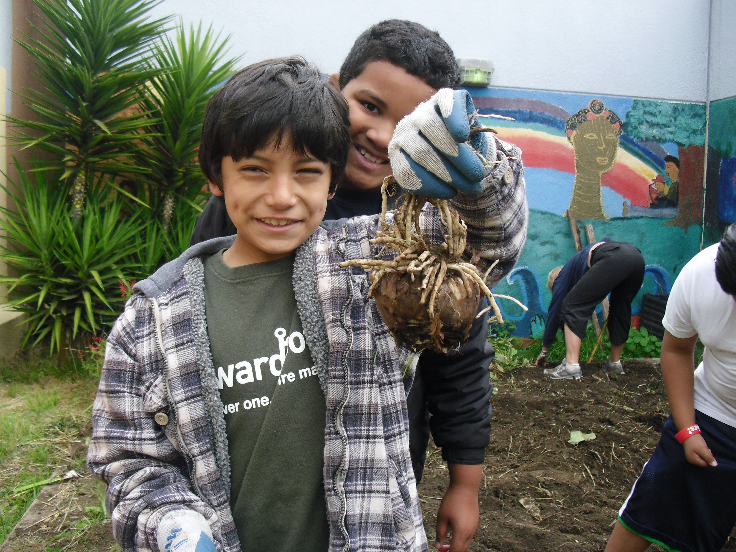 """Upward Roots is a place where you have a chance to help the world.""   - Andrew, 4th grade"